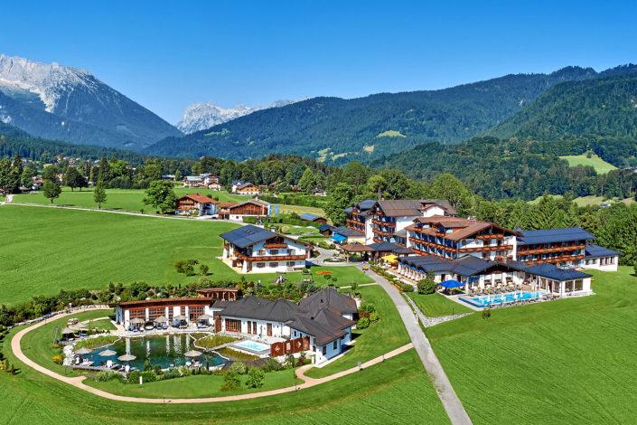 Hotel Zechmeisterlehen Panorama Berchtesgadener Alpen