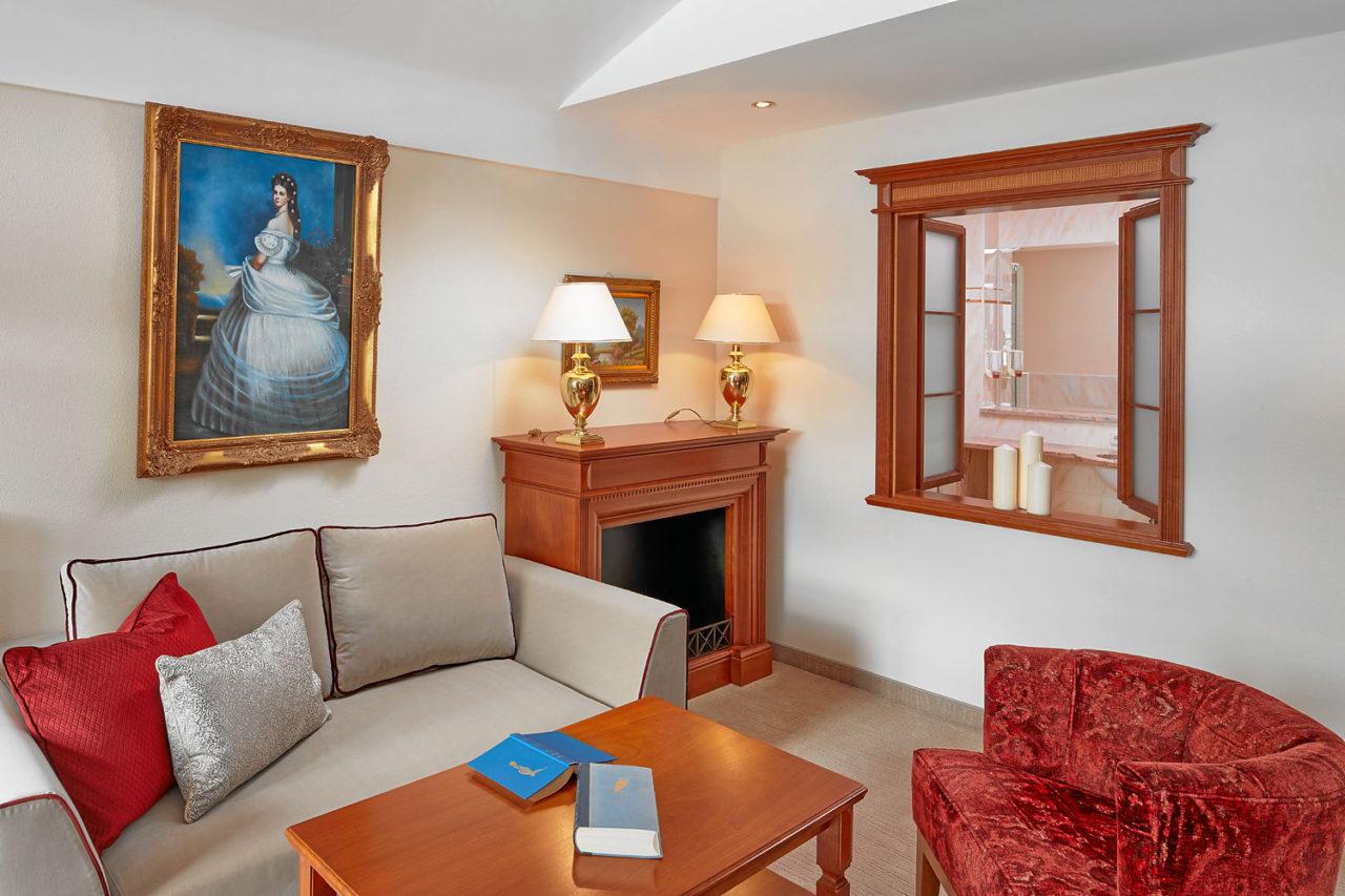 Suite Kaiserin Sissi Pärchen Beschreibung 2018 - Hotel ...